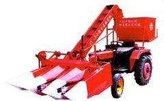 4YQ-1A型单垄玉米联合收获机:哈尔滨鸿勃农业机械经销处